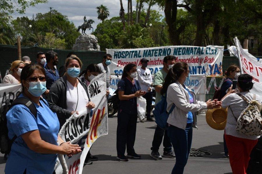 Salud: Alarma por idea de recorte salarial para pagar a precarizados