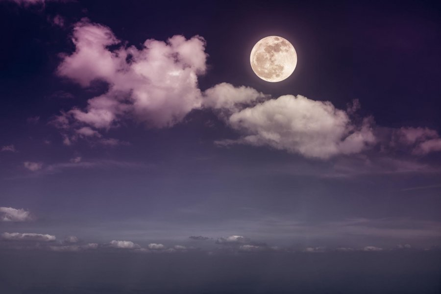 Calendario lunar de enero 2021