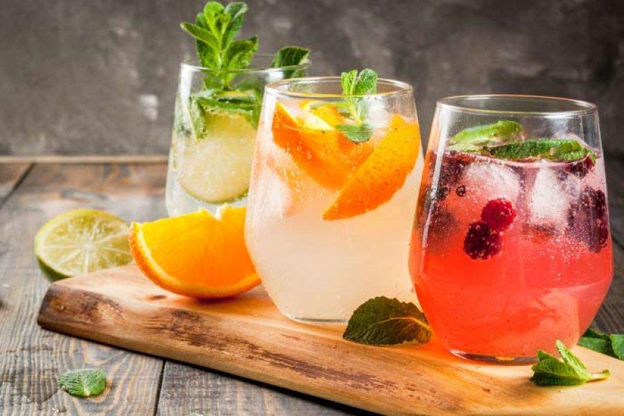5 cócteles deliciosos sin alcohol