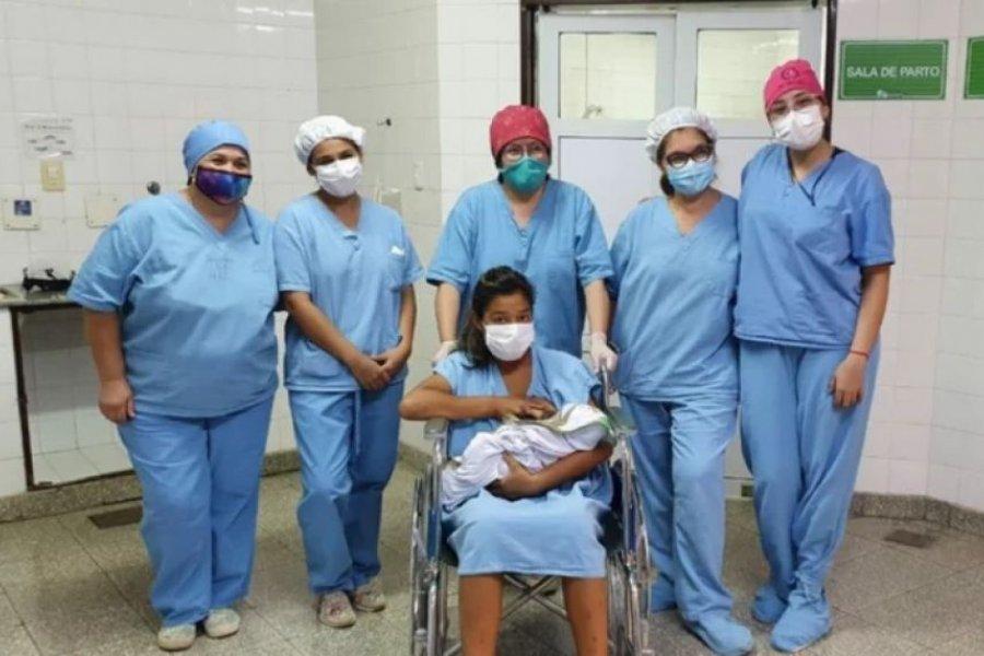 Jorge Adrián fue el primer bebé del año nacido en Corrientes