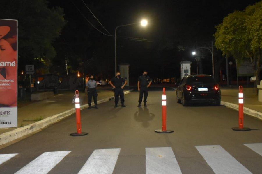 Festejos de año nuevo sin disturbios en Corrientes