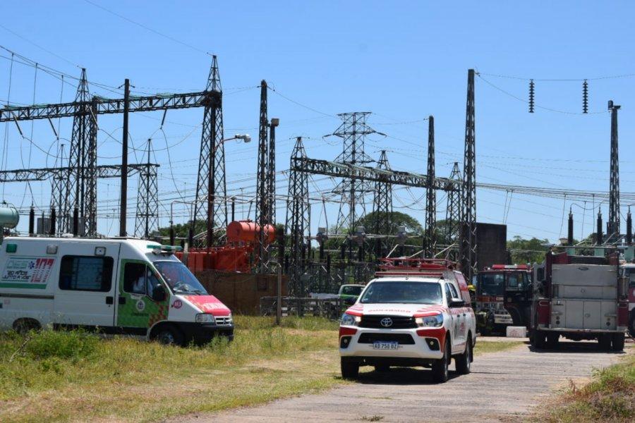 La ET Santa Catalina restablece parcialmente el servicio de energía