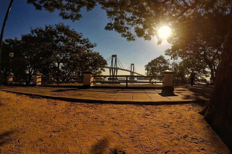 Fin de semana caluroso en Corrientes