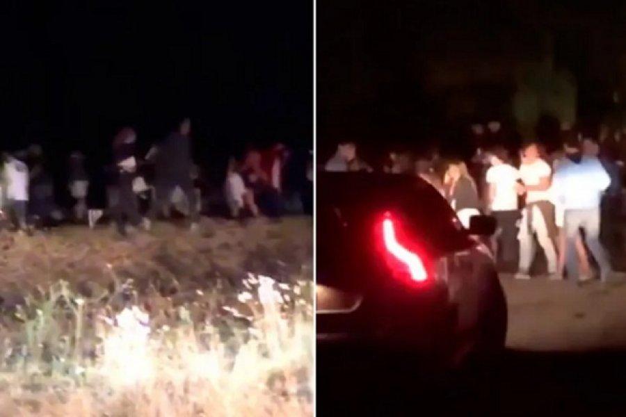 Desactivaron otra multitudinaria fiesta clandestina en Pinamar con más de 600 personas
