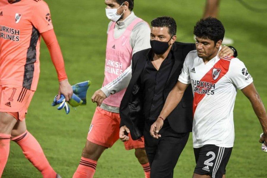 """Gallardo, al Sicario Rojas en Boca- River: """"Rompele el tobillo"""""""