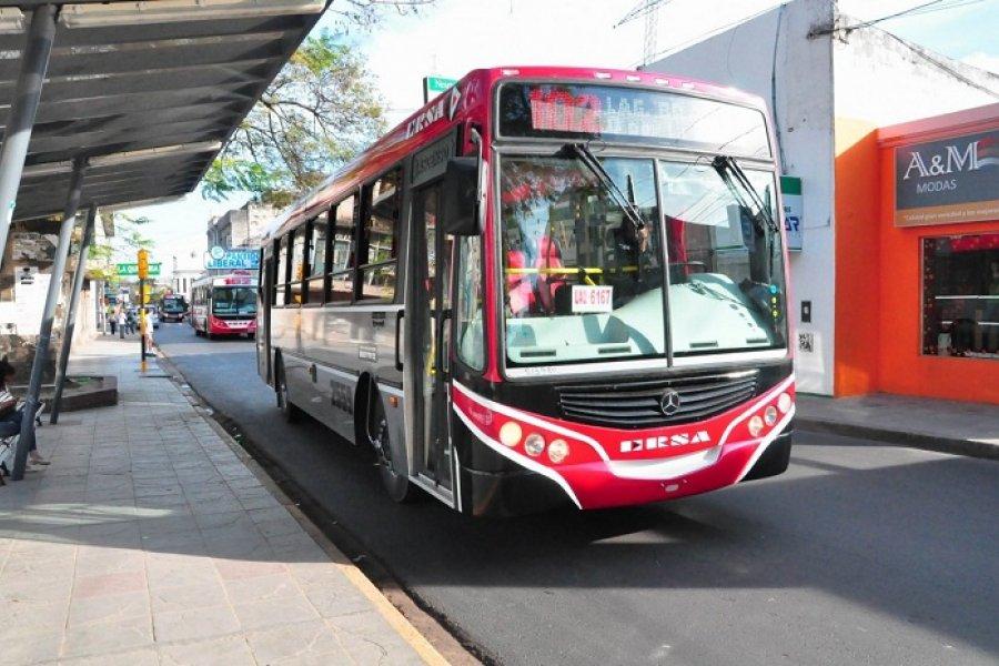 Hoy aumentará la tarifa en el transporte público correntino