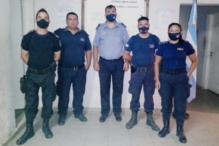 Excelente accionar policial con maniobras de RCP logró estabilizar a un bebé de 29 días