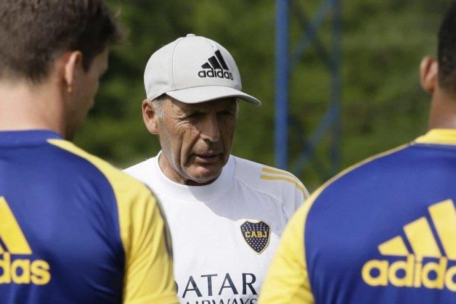 Russo paró al equipo para enfrentar a Santos en la Libertadores