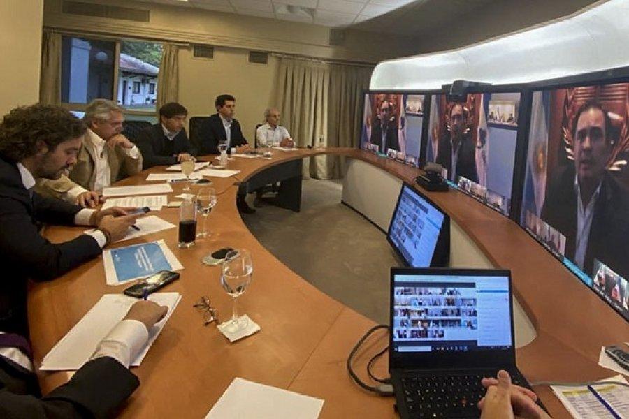 Alberto Fernández tendrá hoy un encuentro virtual con Gobernadores