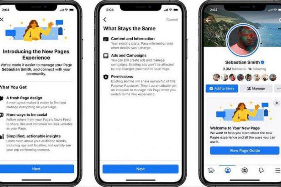 """Facebook eliminó el """"Me gusta"""" de sus páginas públicas"""