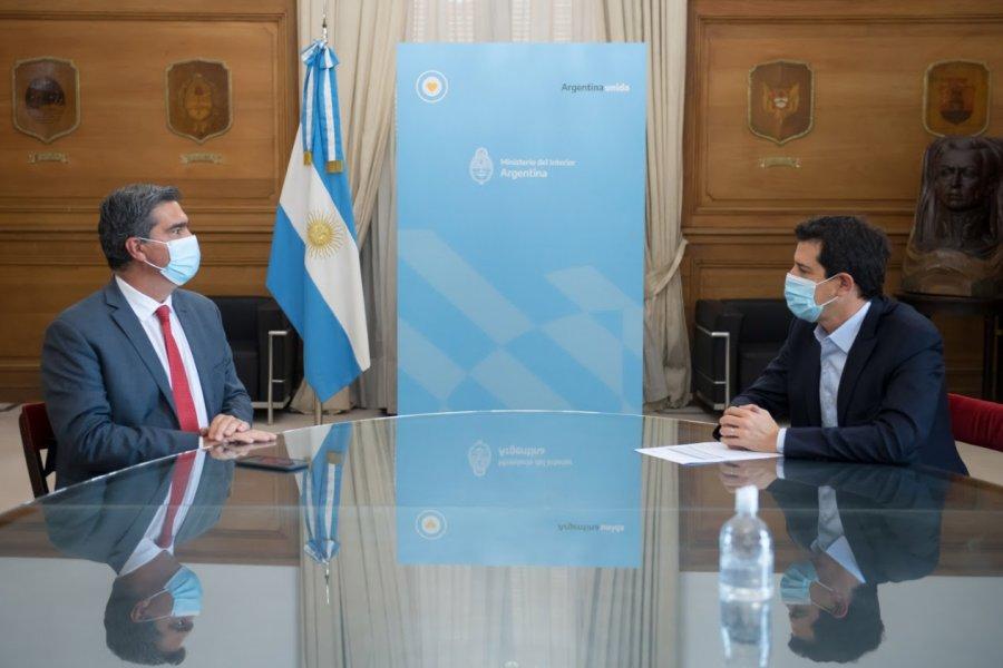 Wado de Pedro recibió al gobernador de Chaco para analizar proyectos de desarrollo productivo