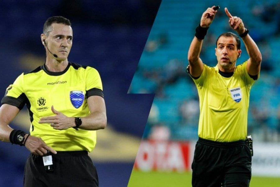 Los árbitros para Santos-Boca y Palmeiras-River por Copa Libertadores