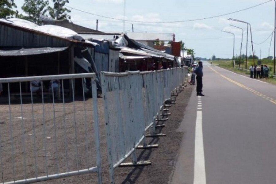 Gaucho Gil blindado: Devotos no podrán llegar al santuario