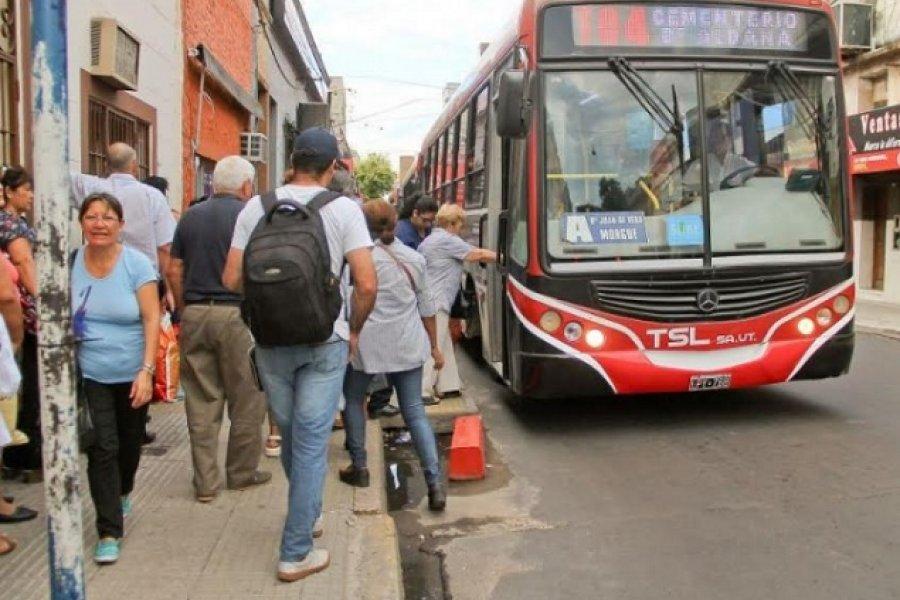 UTA Corrientes lleva adelante paro en el transporte urbano