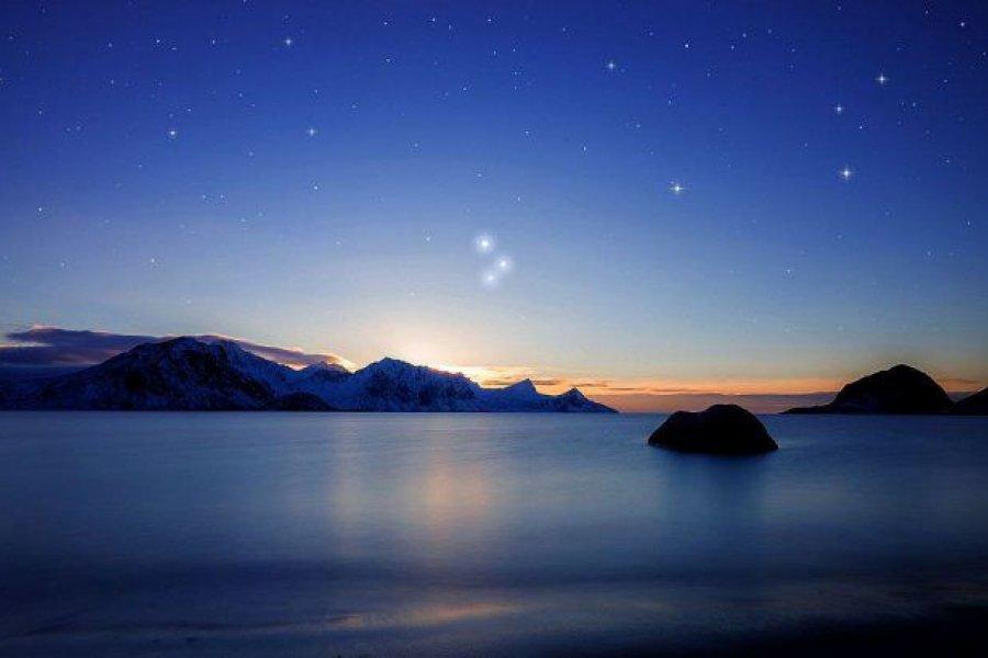 Este domingo podrán verse juntos Júpiter, Saturno y Mercurio