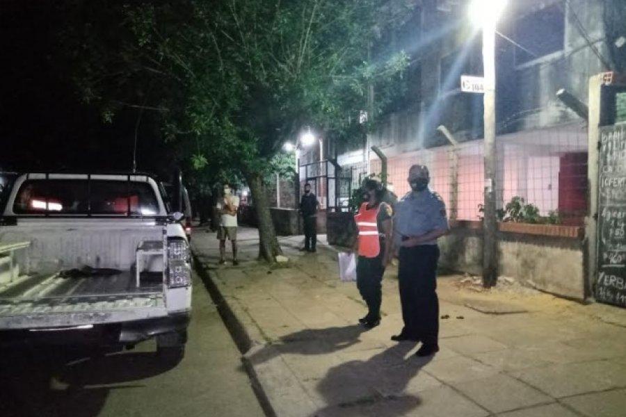 Fuerte operativo de control en distintos barrios de la Ciudad