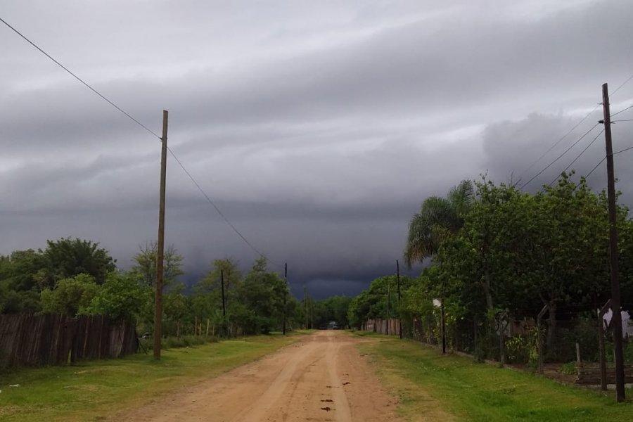 Diez localidades bajo alerta meteorológico por tormentas fuertes