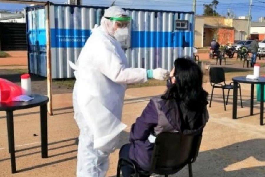 Coronavirus: 39 casos positivos nuevos en Monte Caseros