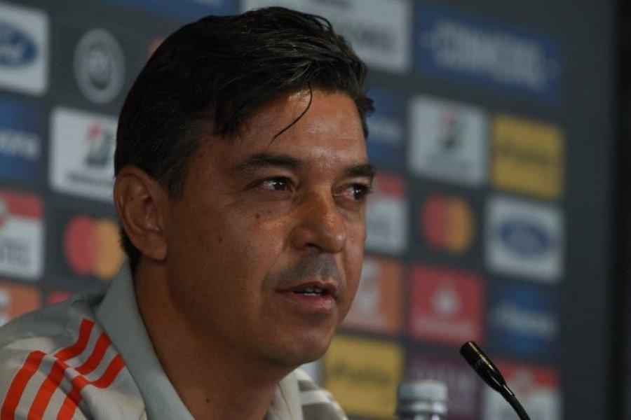Gallardo volvió a hablar de su futuro en River antes de visitar a Palmeiras