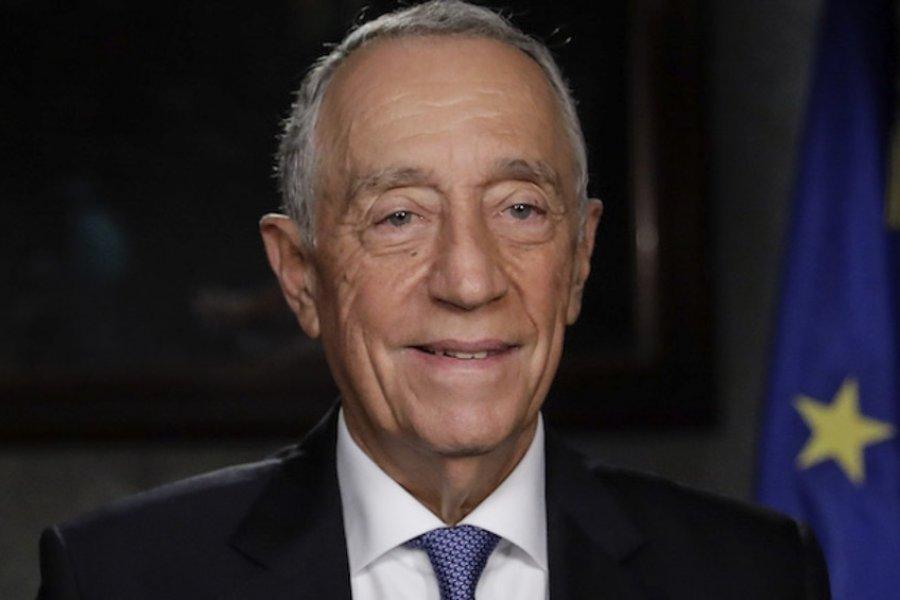El presidente portugués contrajo coronavirus a dos semanas de las elecciones