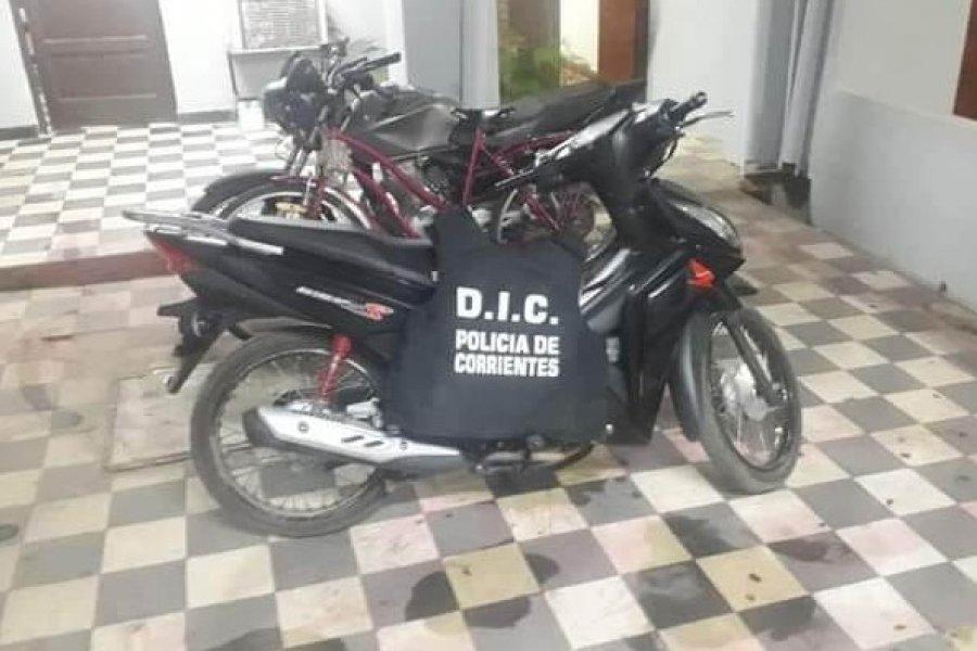 Policías recuperaron motocicleta sustraída hace más de dos meses