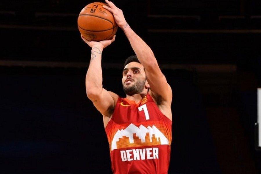 Campazzo mejoró su aporte para Denver