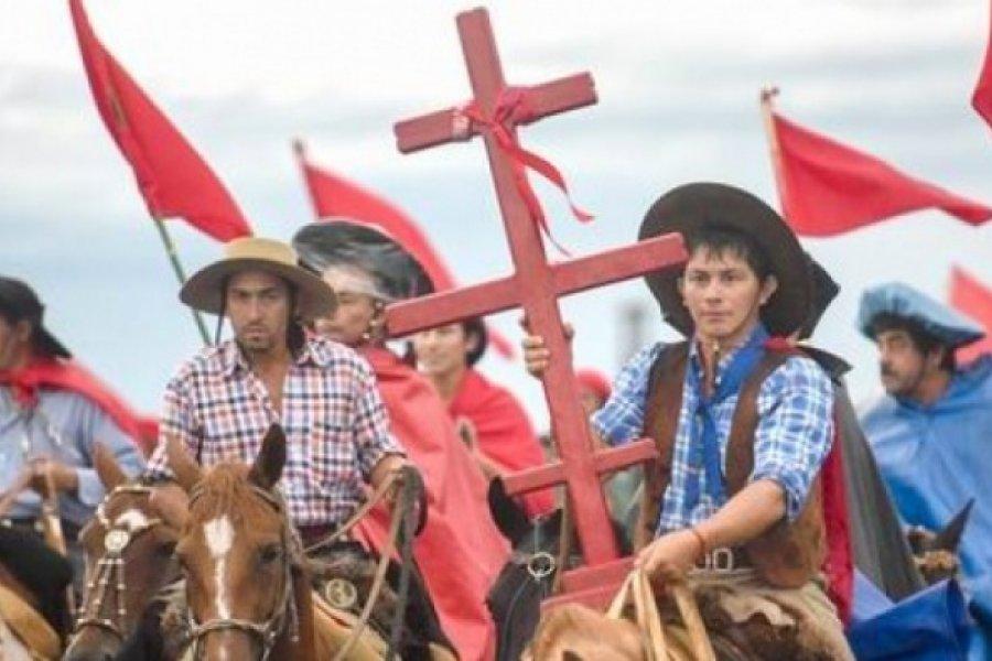 Monseñor Canecín animó a la esperanza a los devotos de la Cruz Gil