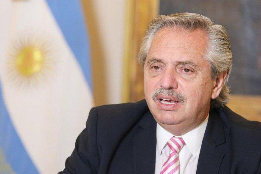 Tras vacunarse contra el coronavirus, Alberto Fernández visita a Piñera en Chile