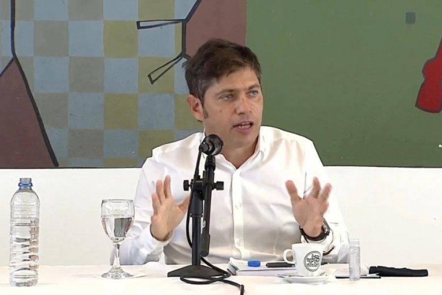 """Axel Kicillof salió al cruce de los operadores antivacunas: """"la campaña fracasó"""""""""""