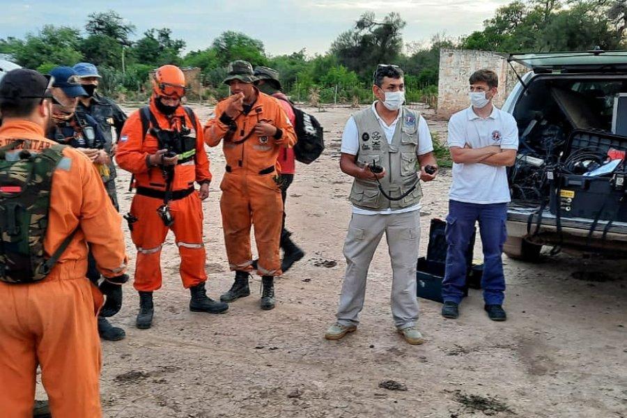 El Ministerio de Seguridad colabora en la búsqueda de un joven en Chaco
