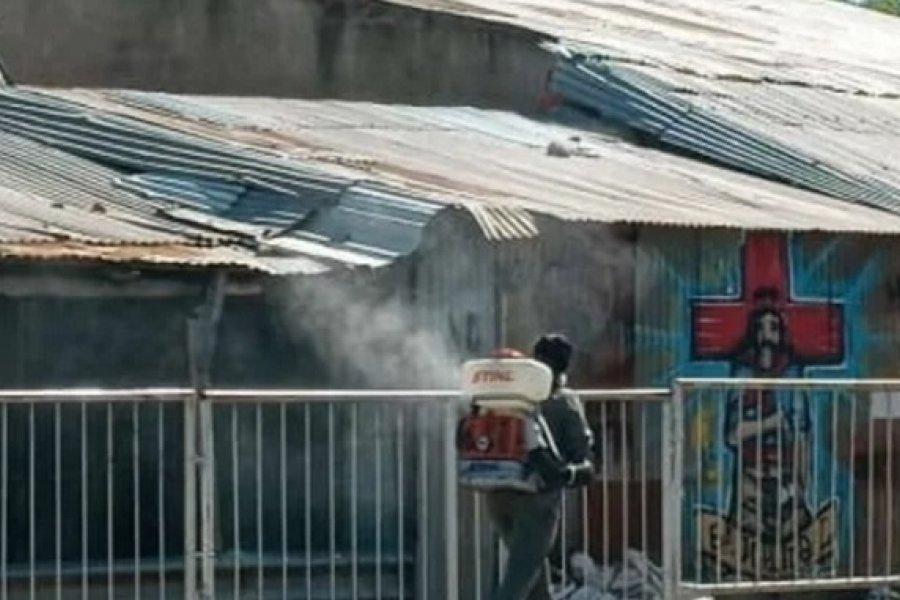 Mercedes: Desinfectaron el predio del Gaucho Gil y varios sectores de la ciudad