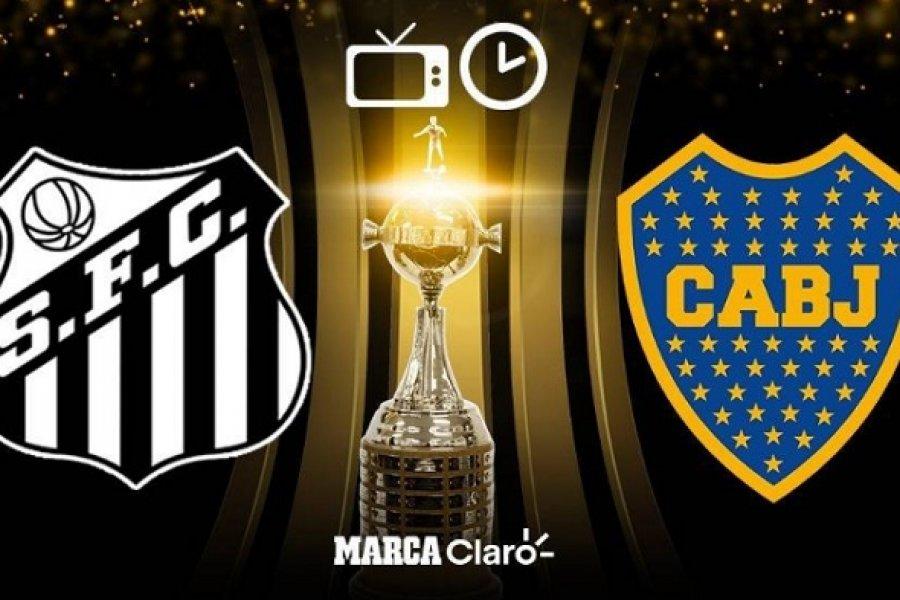 Boca se juega esta noche el pase a la final de la Libertadores