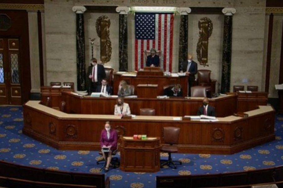 Cámara de representantes aprobó un nuevo impeachment contra Trump tras el ataque al Capitolio