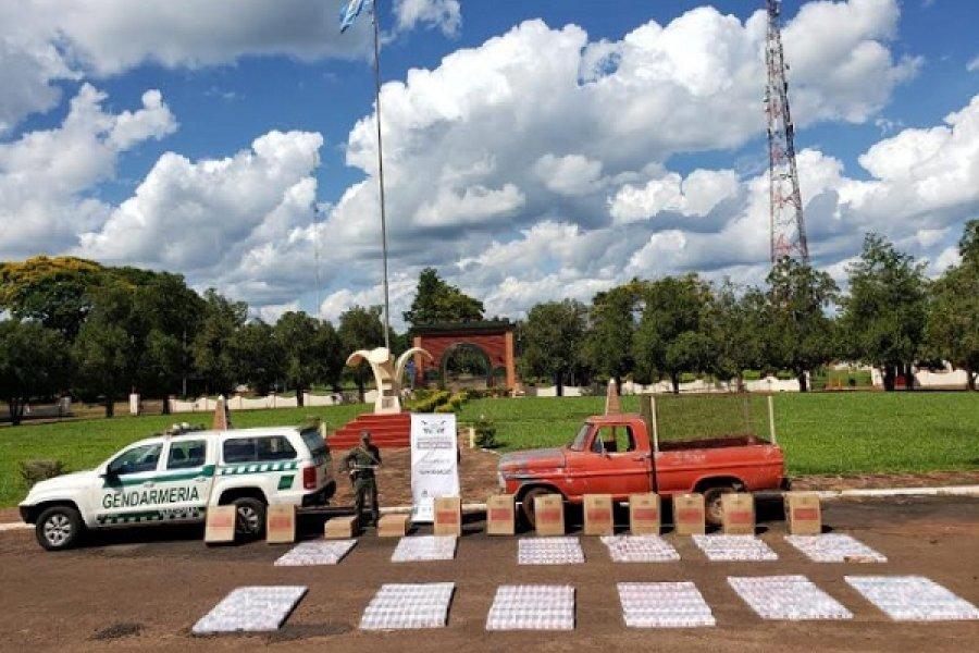Misiones - Salta: Incautan 6.950 paquetes de cigarrillos y 60 kilos de hojas de coca