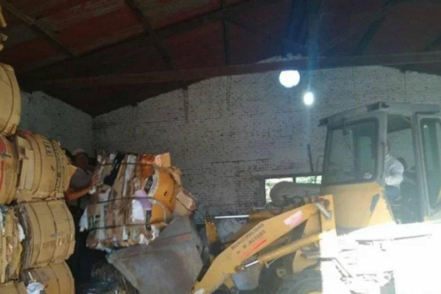 Mercedes modificó el esquema de recolección y planifica el tratamiento final de los residuos