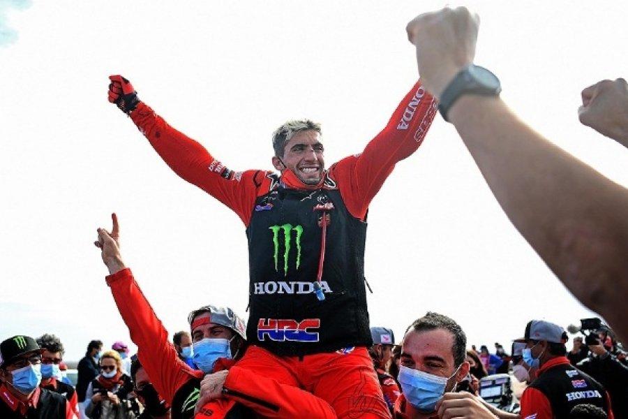 Día histórico para Argentina con dos campeones en el Rally Dakar
