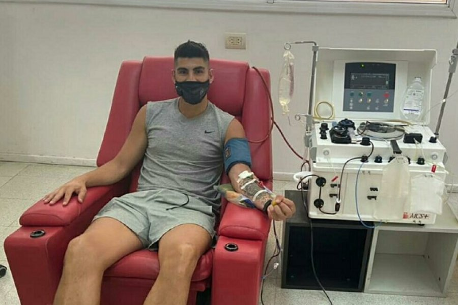 Jugadores de San Martín donaron plasma
