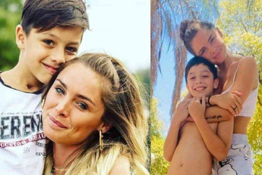 La ex Chiquititas Catalina Artusi se reencontró con su hijo después de denunciar públicamente al futbolista Juan Torres
