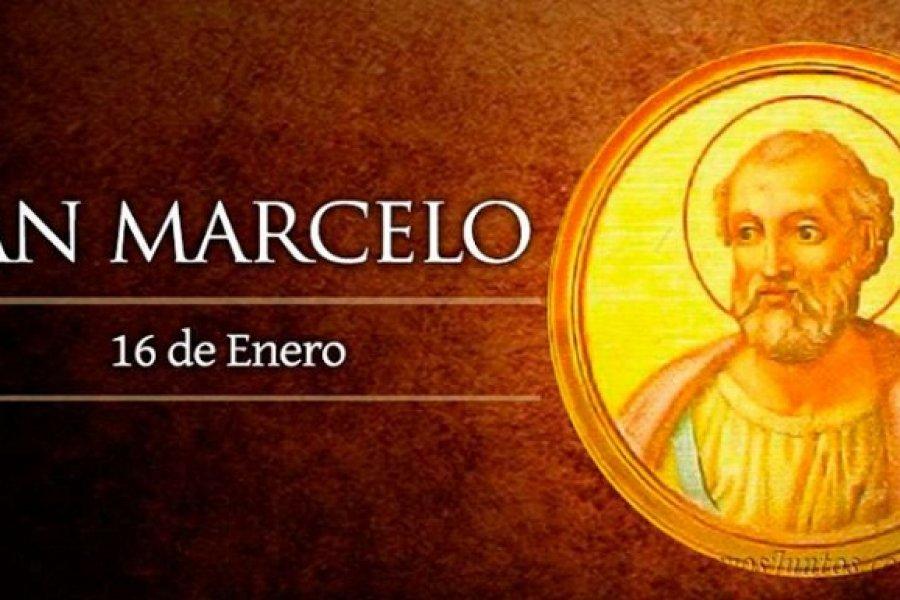 Hoy sábado es fiesta de San Marcelo, Papa