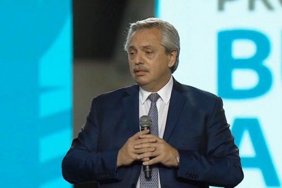 """Alberto Fernández: """"El dictado de clases es un aspecto prioritario en este año"""""""