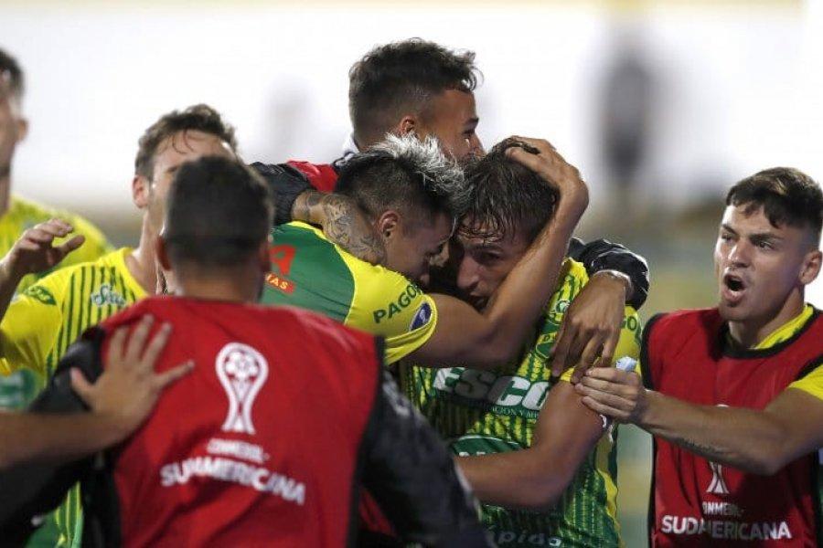Defensa le ganó a Coquimbo y se metió en la final de la Copa Sudamericana