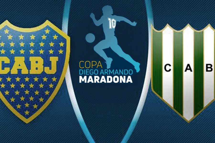 Boca y Banfield definen al campeón de la Copa Maradona