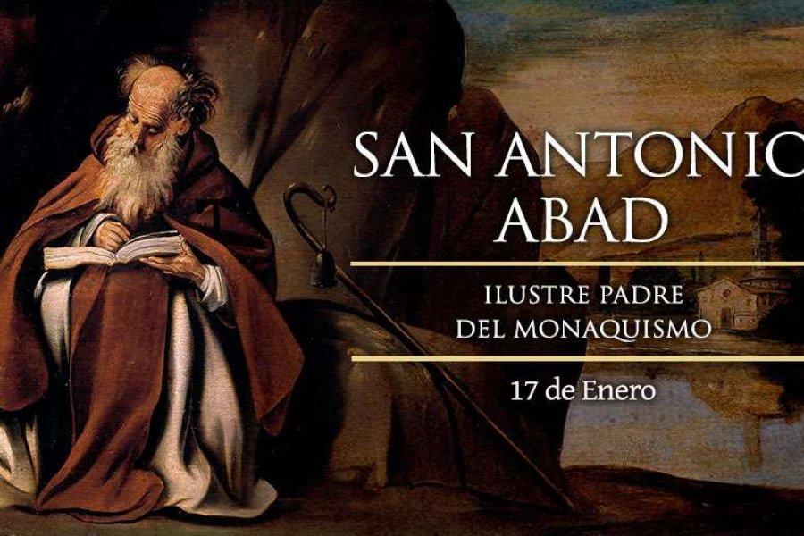 La Iglesia Católica celebra hoy a San Antonio Abad, ilustre padre de los monjes cristianos