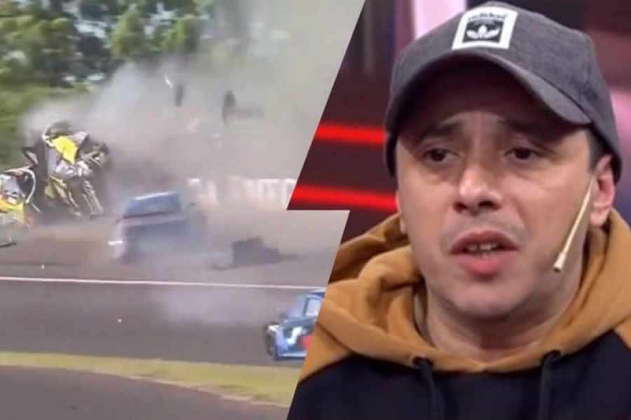 Terrible accidente en Paraná con El Dipy como protagonista