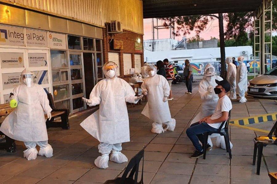Coronavirus en Monte Caseros: Trasladaron a una embarazada al Hospital de Campaña