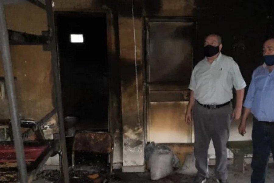 Goya: Incendio y saqueo en refugio para mujeres víctimas de violencia