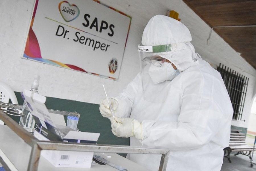 Corrientes tiene 112 contagios nuevos de Coronavirus