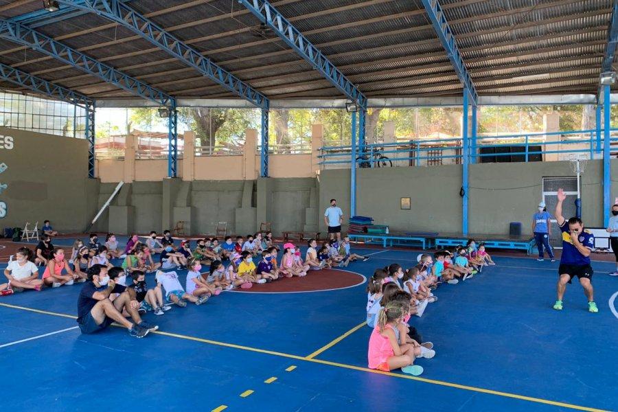 Con gran éxito arrancó el segundo turno de la Escuela Deportiva de Verano