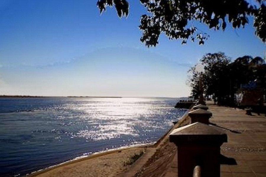 Sol pleno en Corrientes