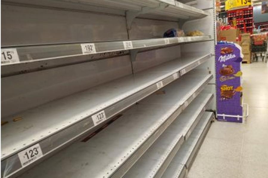 Desabastecimientos en Hipermercados de Corrientes y Resistencia